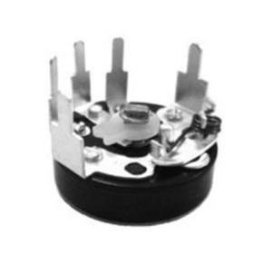 R16S4C 16mm size molded case potentiometer with switch